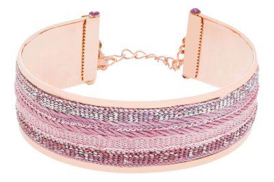 """Inia"" Bracelet, Pink"