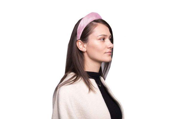 Abaca Headband, Pink